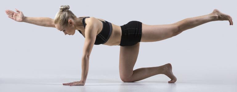 Beinstrecker trainieren