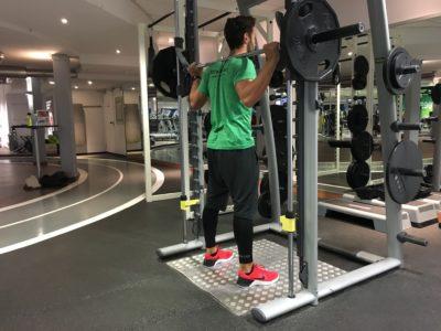 Kniebeugen Multipresse Ausführung