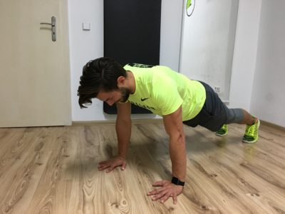 Mountain Climbers Übung