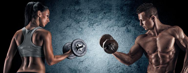 Trainingsplan Muskelaufbau und Fettabbau